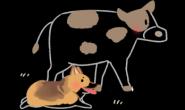 家中爱偷懒的狗狗以前竟是农场好帮手?